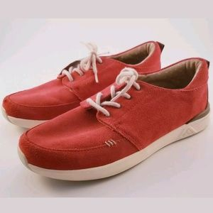 Reef ROVER LOW Red Swellular Technology Skate Shoe